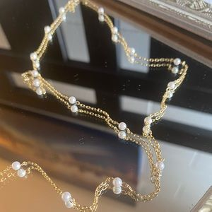 XIO by Yvette NWOT Pearl necklace